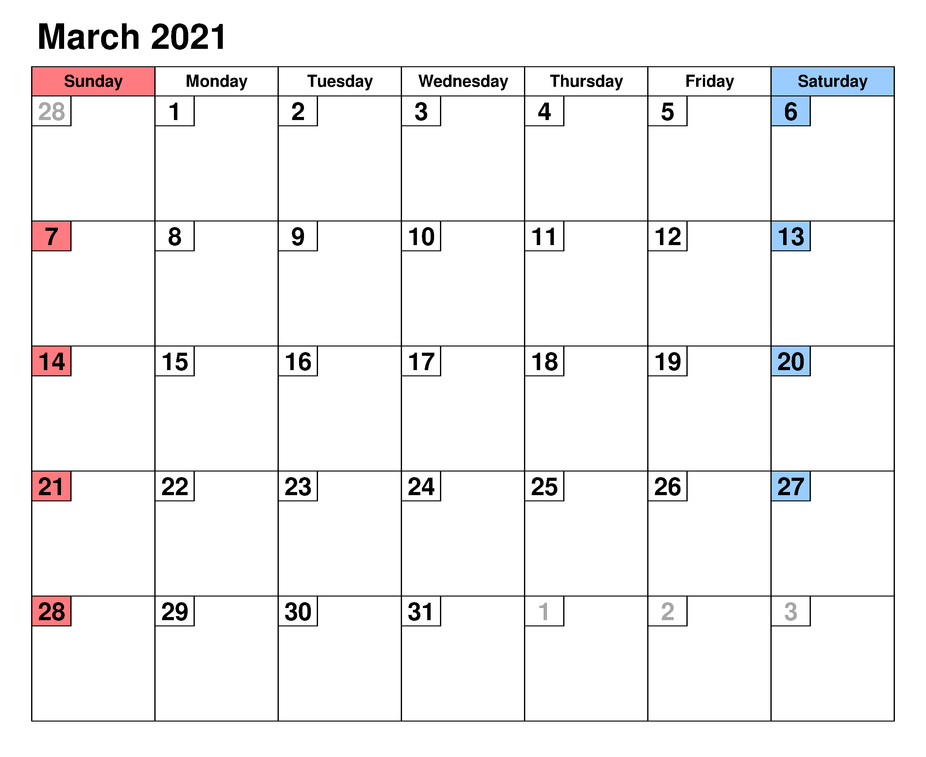 Printable March 2021 Calendar With Holidays - Zhudamodel Pertaining To March Holidays 2021 Calendars