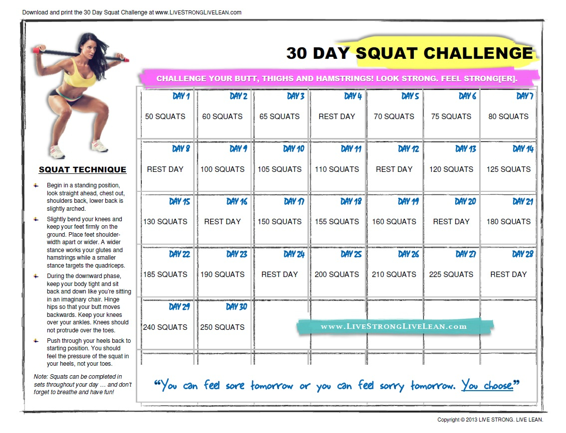Reflections, Sassy Nails, And Silly Diversions!: Abs Within Beginner 30 Day Squat Challenge