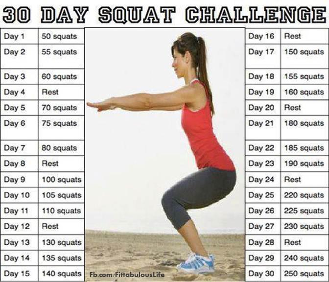 That British Woman: What Do I Get Myself Into? Regarding 30 Day Squat Challenge For Men And Women