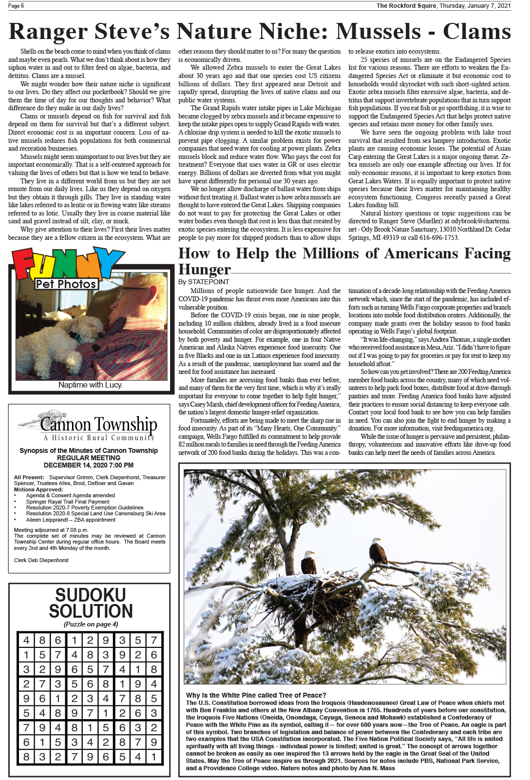 The Rockford Squire - Thursday, January 7, 2021   The With Regard To Grps Calendar 2021